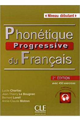 Phonétique progressive du français - Niveau débutant - Livre + CD - 2ème édition