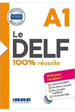 Le DELF - 100% réussite - A1 - Livre + CD