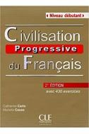 Civilisation progressive du français - Niveau débutant - Livre + CD - 2ème édition
