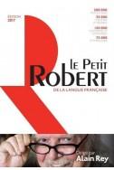 Dictionnaire Le Petit Robert 2017