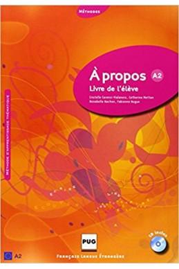 A propos A2 : Livre de l'eleve (1CD audio)