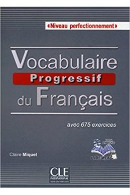 Vocabulaire progressif du français - Niveau perfectionnement - Livre + CD + Livre-web