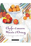 Chefs d'oeuvres du musée d'Orsay coloriages anti-stress