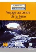 Voyage au centre de la Terre - Niveau 1/A1- Lecture CLE en Français facile - Livre + CD