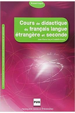 Cours de didactique du français langue étrangère et seconde