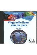 Vingt mille lieues sous les mers CD – Livre audio