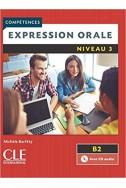 Expression orale 3 - Niveau B2 - Livre + CD - 2ème édition