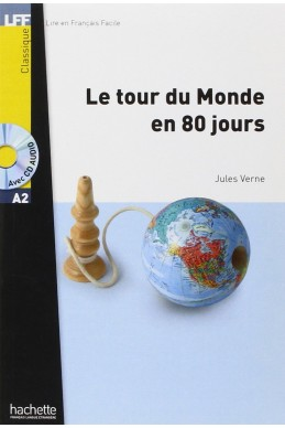 Le tour du monde en 80 jours (1CD audio)- A2