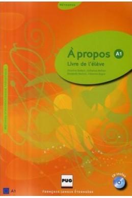 A propos A1 : Livre de l'eleve (1CD audio)