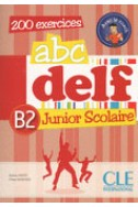 ABC Delf  B2 junior scolaire 200 exercices + DVD rom