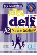 ABC DELF A2 junior scolaire livre + CD audio + corriges