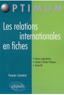 Les relations internationales en fiches