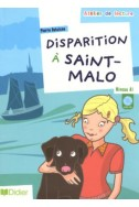 Disparition à Saint-Malo : Niveau A1 (1CD audio)