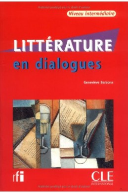 """COLLECTION """"EN DIALOGUES"""" LITTIRATURE + CD AUDIO NIVEAU INTERMIDIAIRE"""