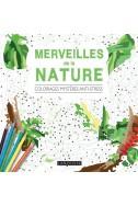 Merveilles de la nature - Coloriages mystères anti-stress