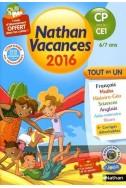 Cahier de vacances- CP vers le CE1 (6/7 ans)